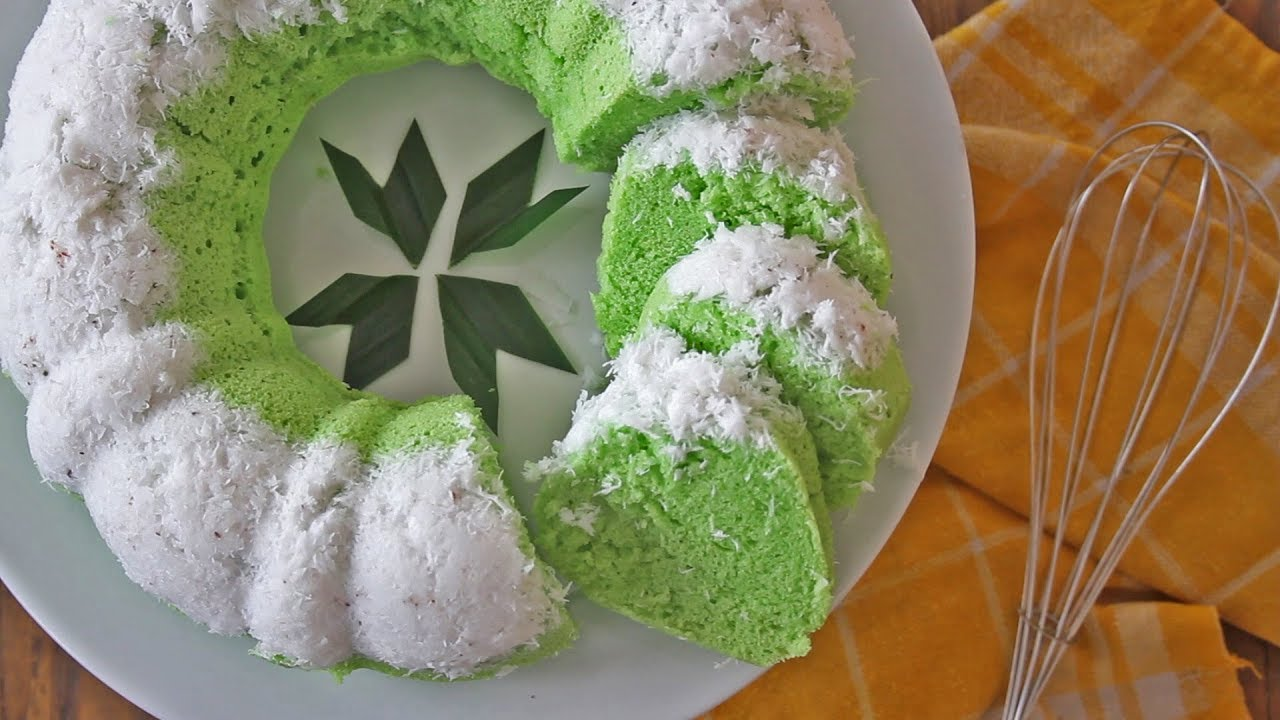 Cara membuat kue putu ayu