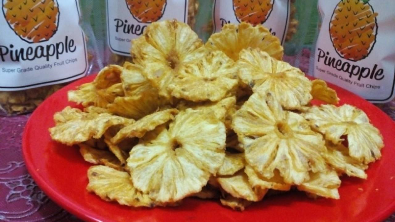 Resep Keripik Nanas Khas Riau Yang Menggiurkan Sekali!
