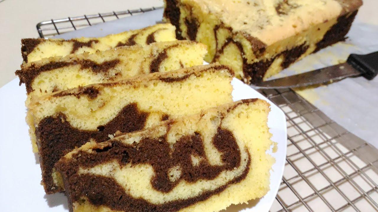 Cara Membuat Cake Marmer Lezat