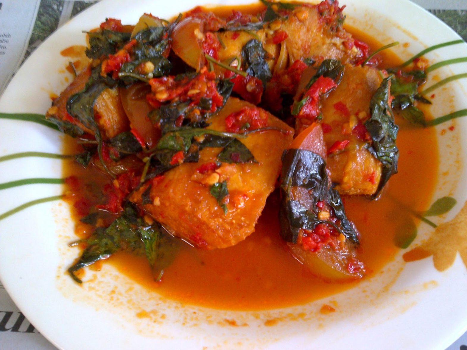 Resep masakan Ikan tuna rica-rica