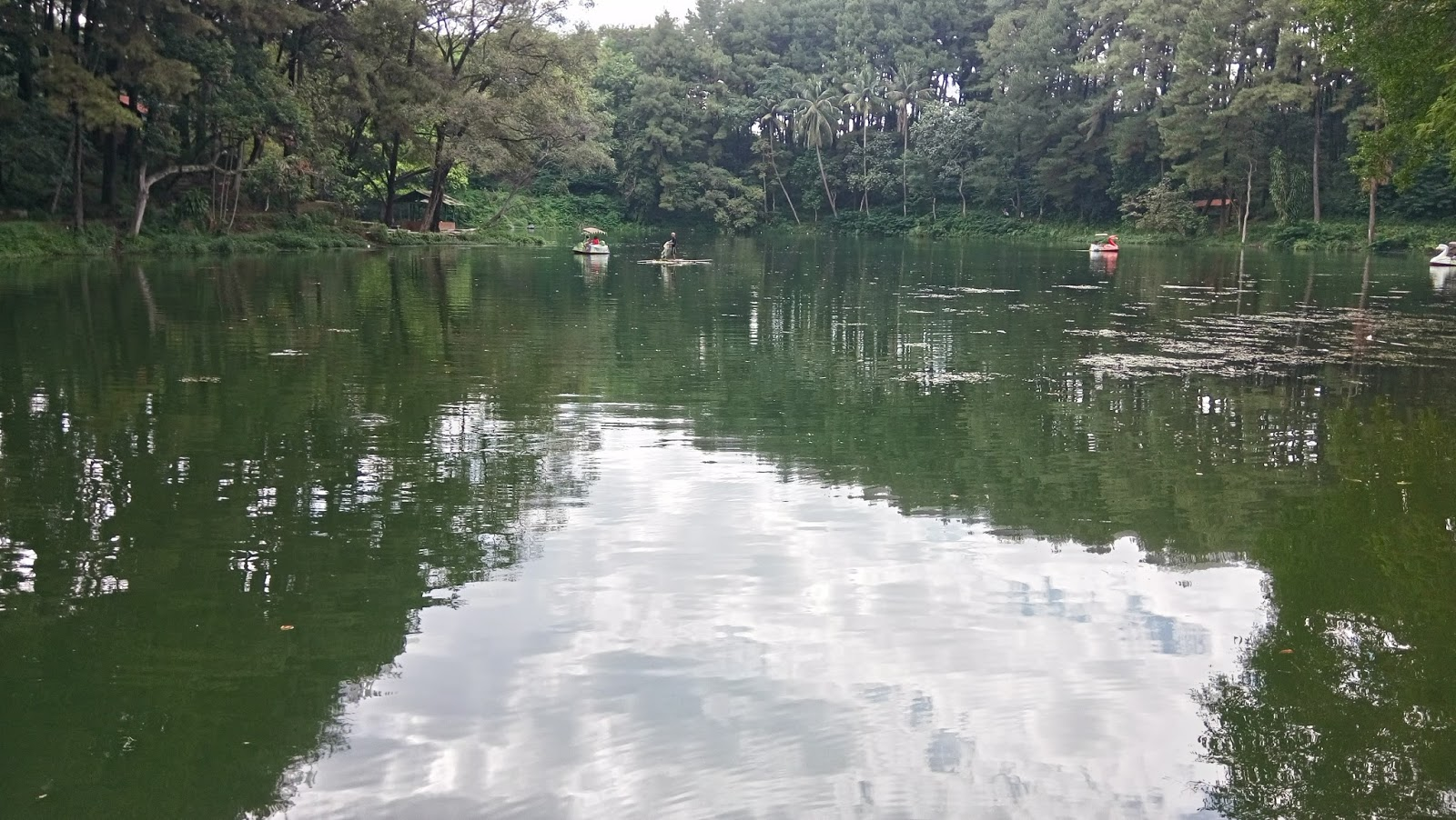 Wisata alam telaga remis Cirebon Jawa Barat