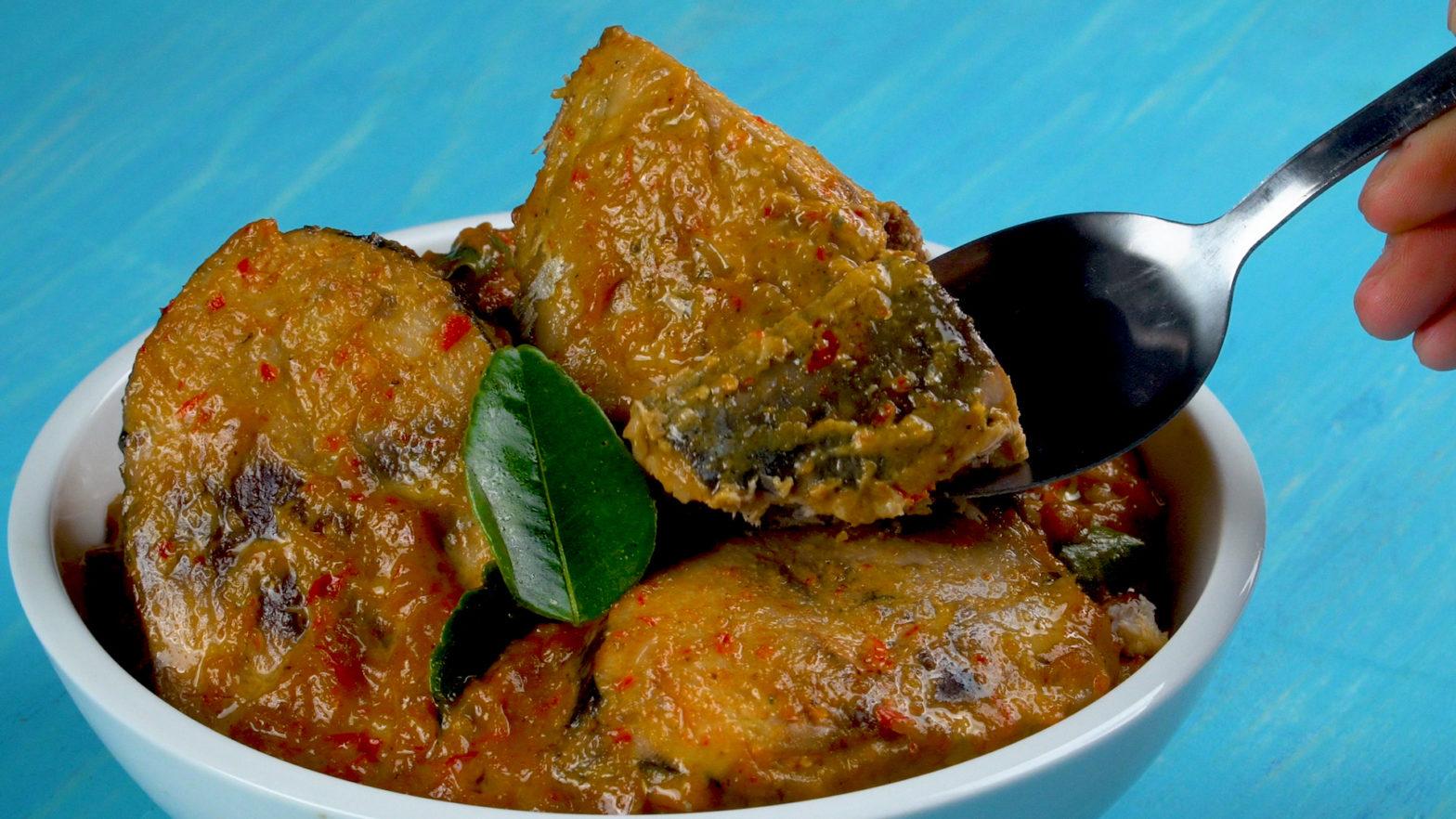 Masakan ikan Tongkol
