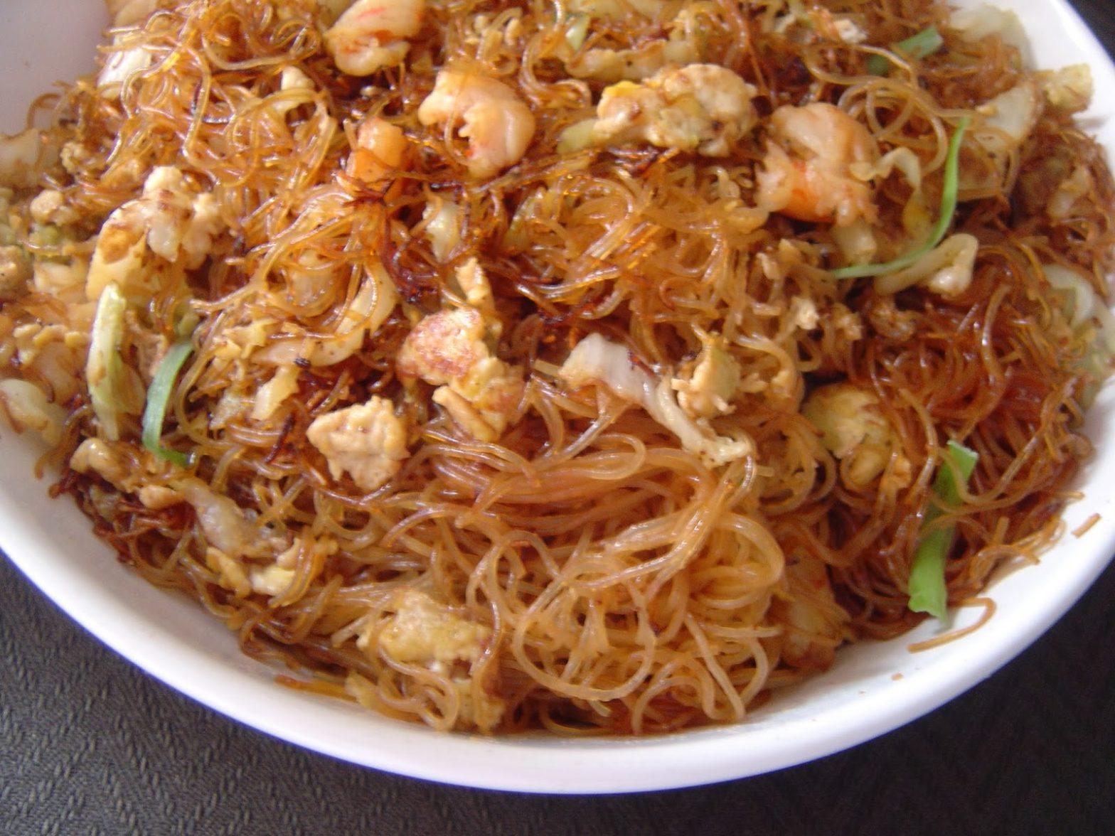 resep bihun goreng chinese