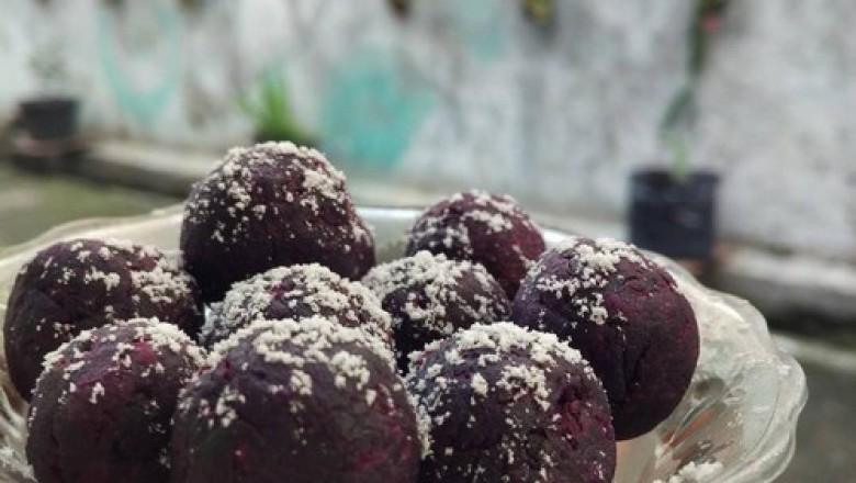 resep kue ubi ungu tanpa tepung