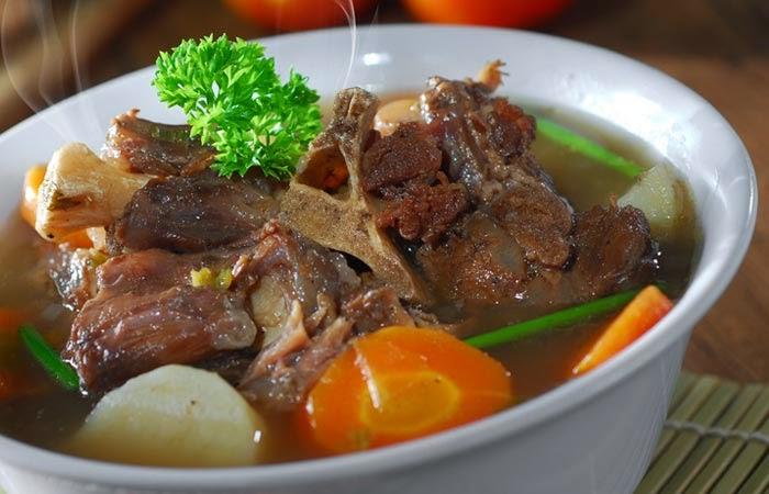 Resep Sop Buntut Restoran Ala Rumahan Resep Masakan Nusantara