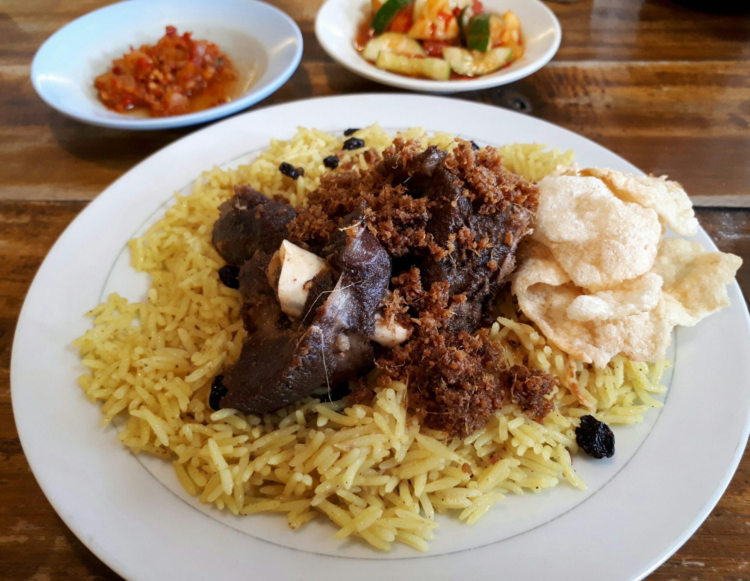 Cara Bikin Nasi Kebuli Arab