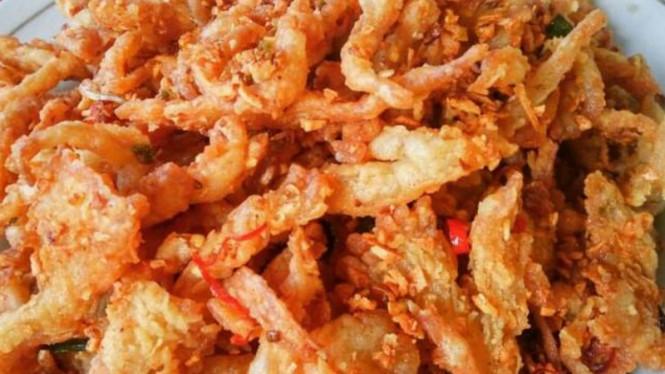 resep jamur crispy pedas
