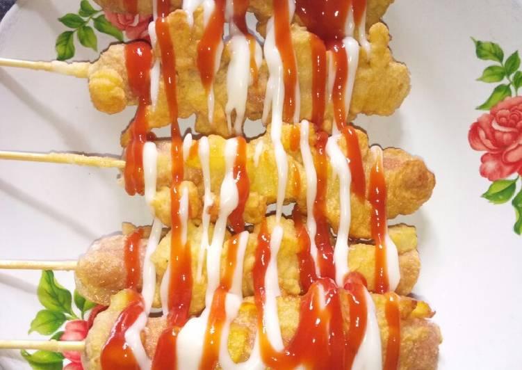 resep kentang sosis keju